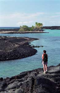 Kiholo Bay, Big Island - Hiking
